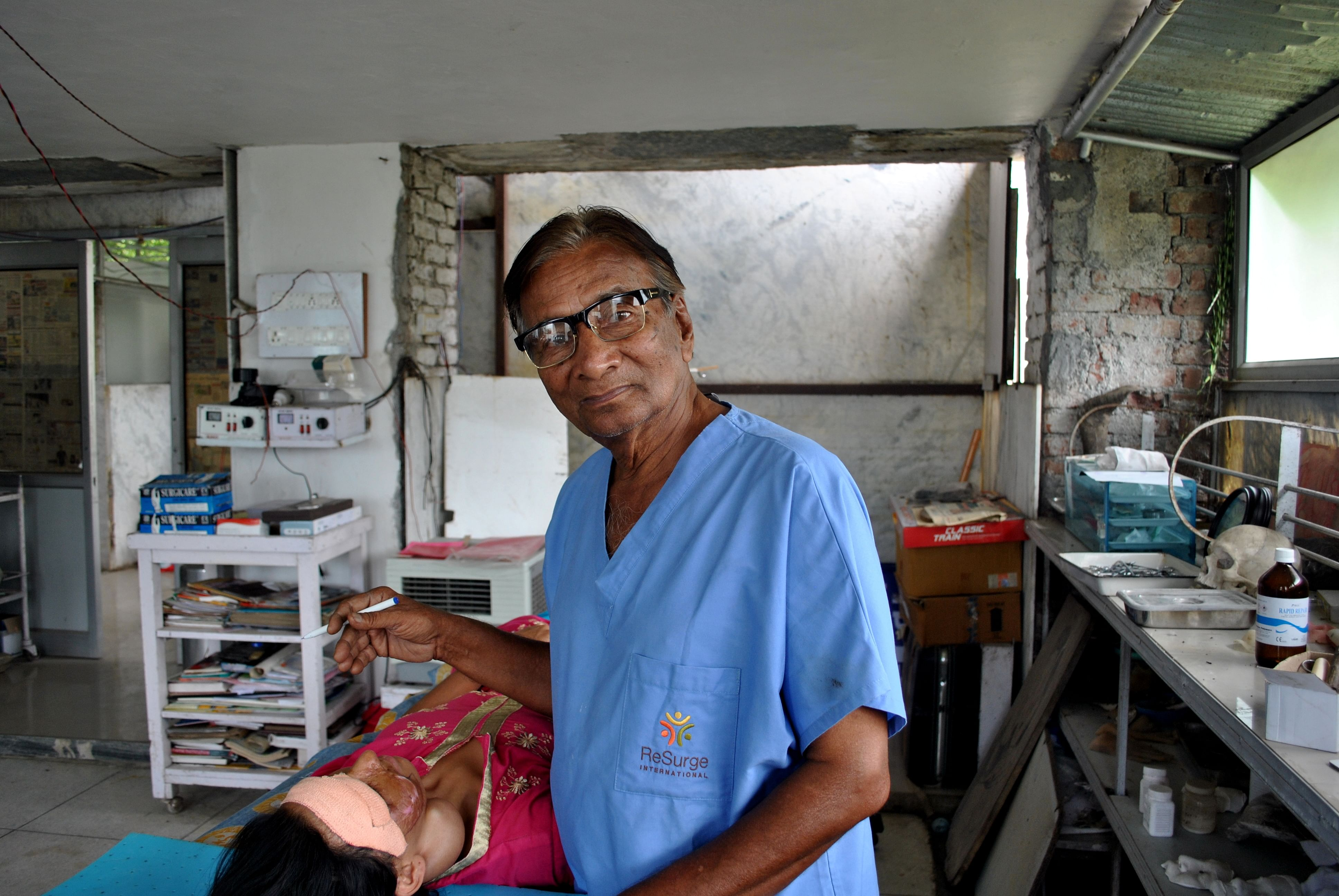 Meet Malsi Yogi: This 80-Year-Old Operates on 500 Burn Victims Each Year for Free