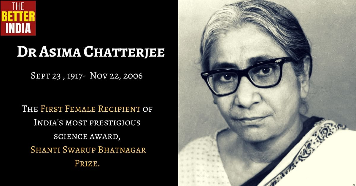 Asima Chatterjee: All You Need to Know About One of India's First Woman Doctorates of Science!