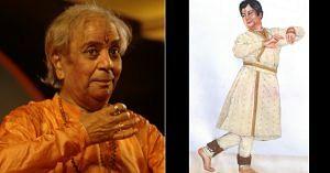 Pandit Birju Maharaj- Male Kathak Dancers (1)