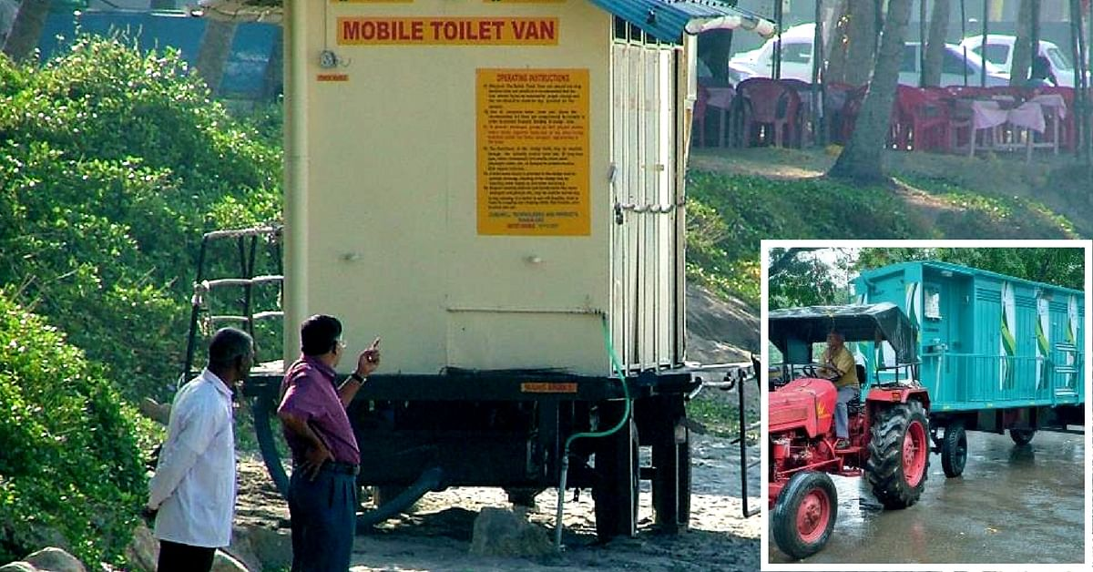 Searching for a Toilet in Thiruvanathapuram? Mobile Toilets Are Coming to Your Aid