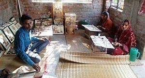 The workshop of Karthik Kulia (Photo by Rajeshwari Sharma)