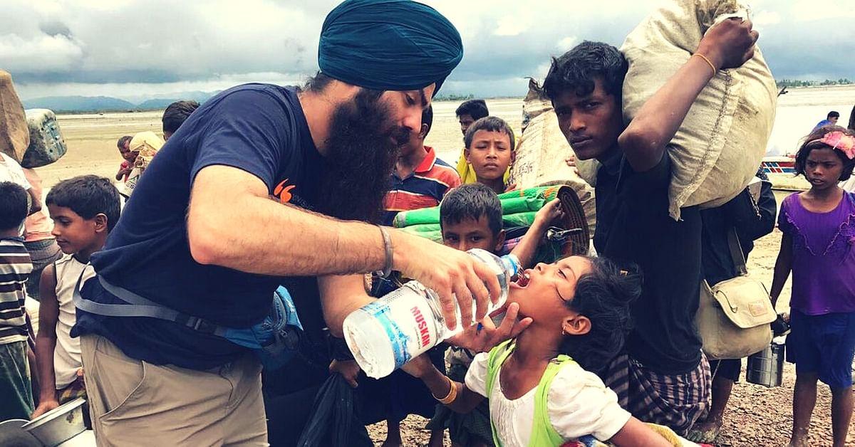Sikh-volunteers- Khasla Aid-Rohingya