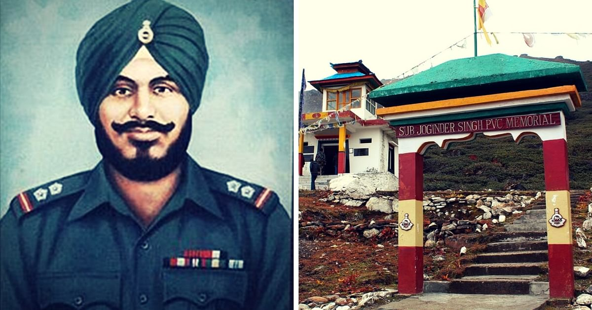 Remembering Param Vir Subedar Joginder Singh and His Extraordinary Tale of Bravery