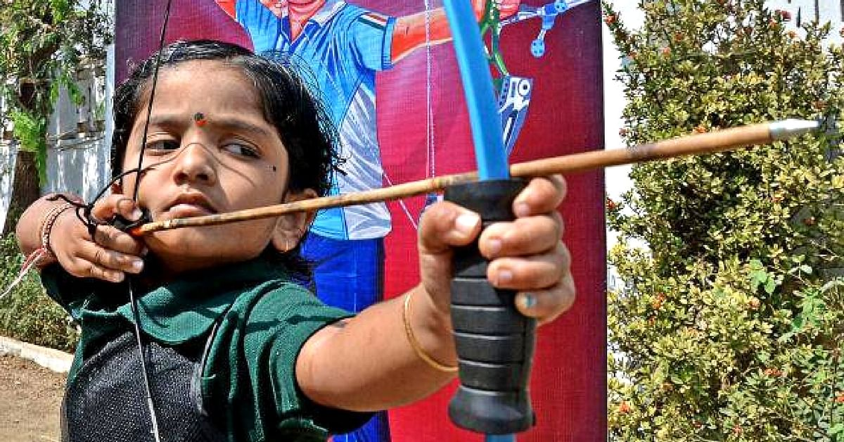 This 5-Year-Old Andhra Girl Has Created Two Archery Records in a Day