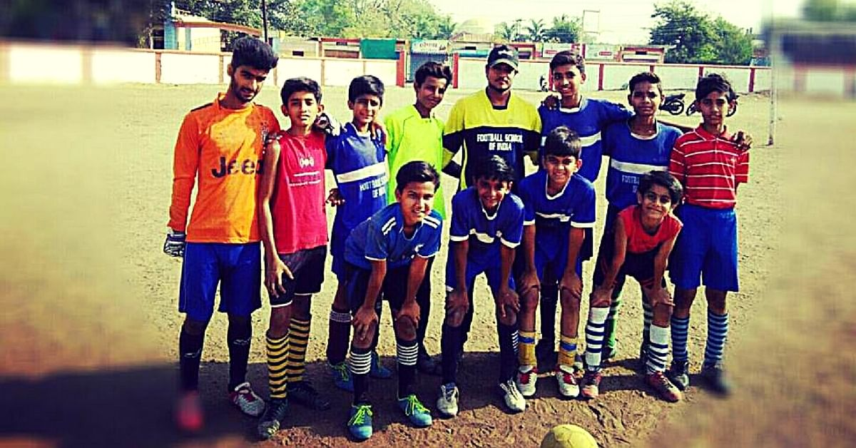 This 21-Year-Old Football Coach Is Changing the Lives of Young Slum Dwellers in Madhya Pradesh
