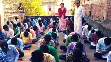 free coaching - rajasthan- teacher-couple
