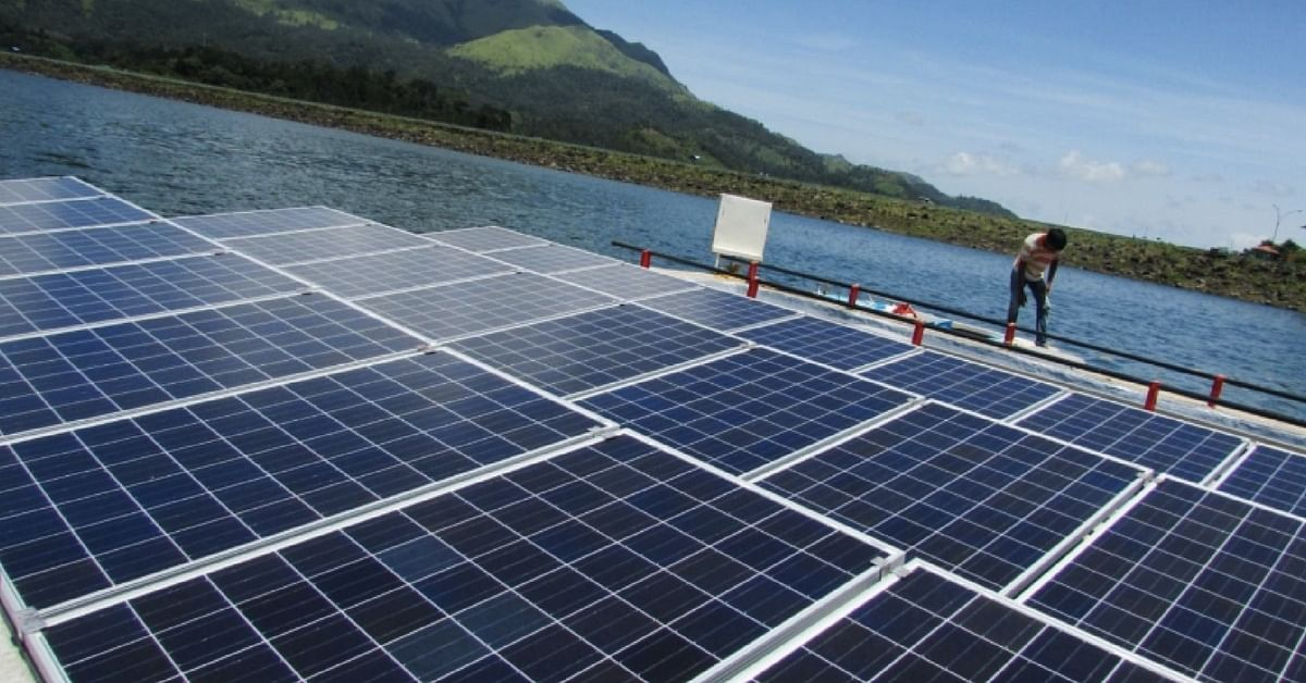 India's Largest Floating Solar Plant in Kerala Is a Marvel in Frugal Engineering