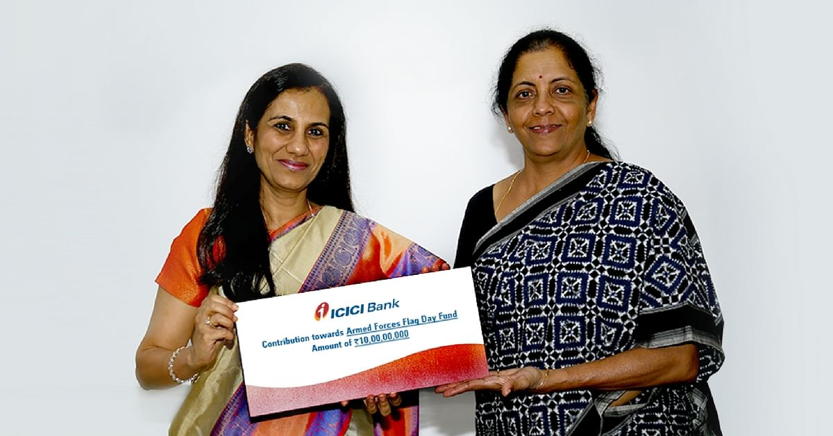 ICICI Bank Supports Armed Forces With Rs. 10 Crore