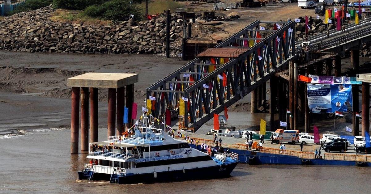 PM Modi launches RO-RO ferry service in Ghogha