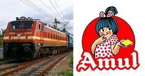 Indian Railways- Amul -
