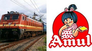 Indian Railways- Amul -
