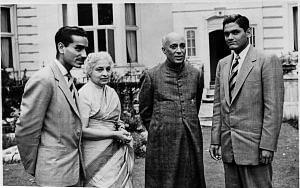 Vijaya Lakshmi Pandit first woman president of the UN General assembly