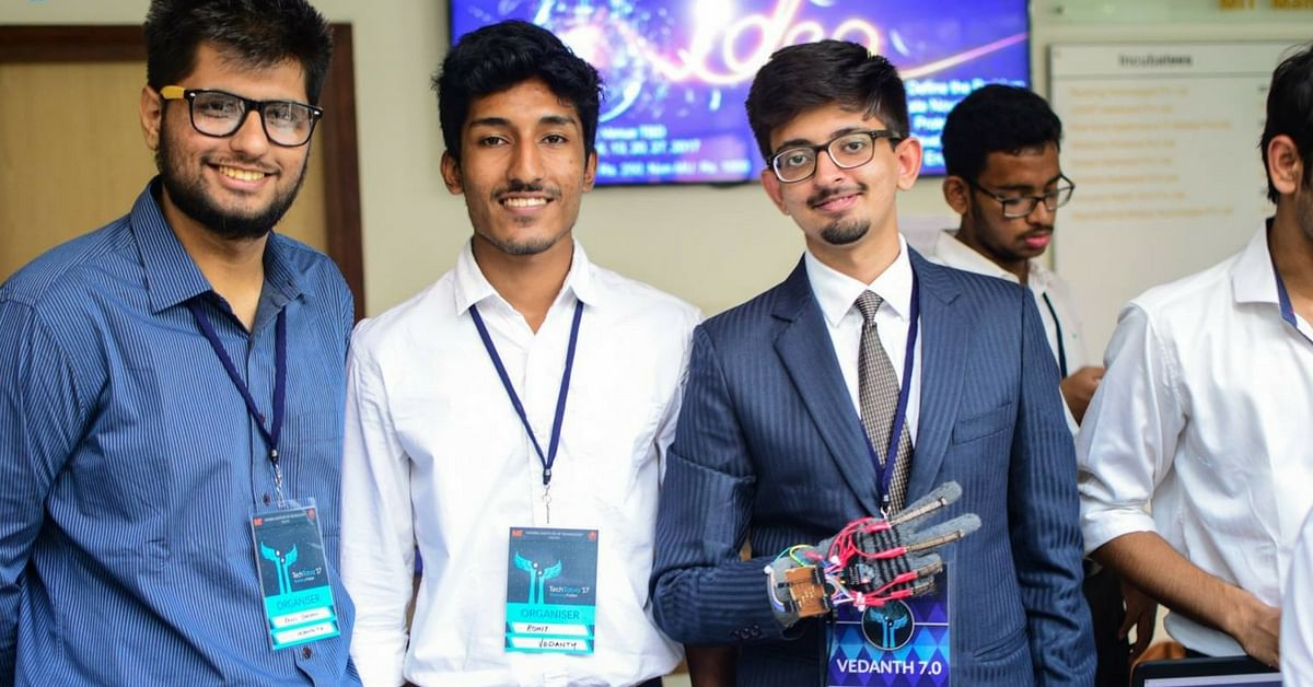 Amazing! Manipal Students Design a 'Talking Glove' for the Speech/Hearing Impaired