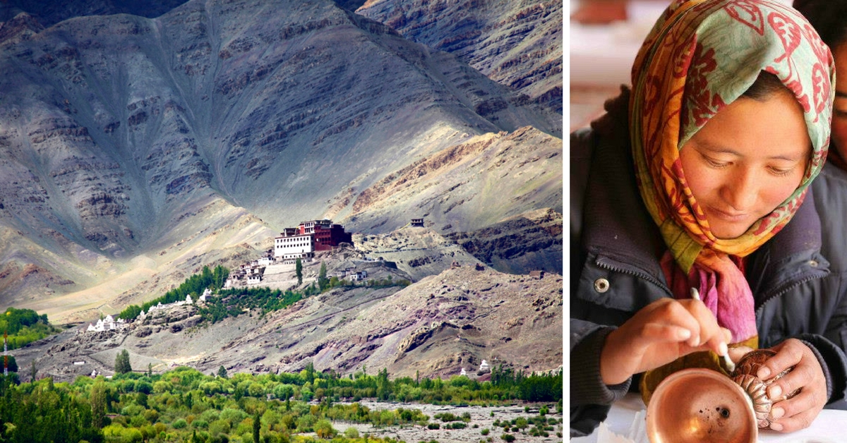 How Ladakhi Women Are Giving a Makeover to Centuries-Old Art Treasures