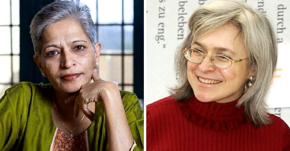 All You Need to Know About Gauri Lankesh's Anna Politkovskaya Award