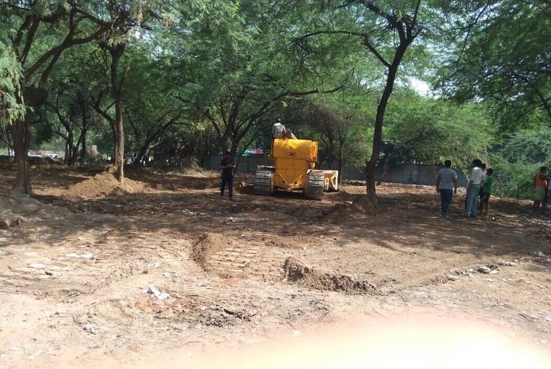 Delhi Police Transformed A Dumping Ground to Playground