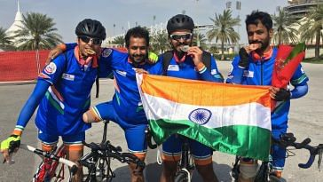 jawans- Para-cycling - India-