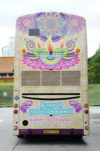 Singapore- Deepavali-themed buses trains Diwali