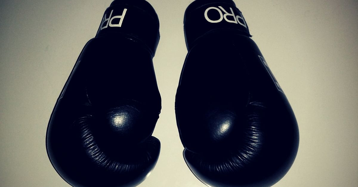 A Pair of Boxing Gloves. Picture Courtesy: Wikimedia Commons.
