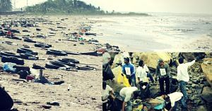 A Polluted Beach. Picture for representative purposes only. Picture Credit: Wikipedia.Inset Photo Credit: The Hindu.