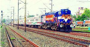 Bangladesh-India-partition-railway tracks