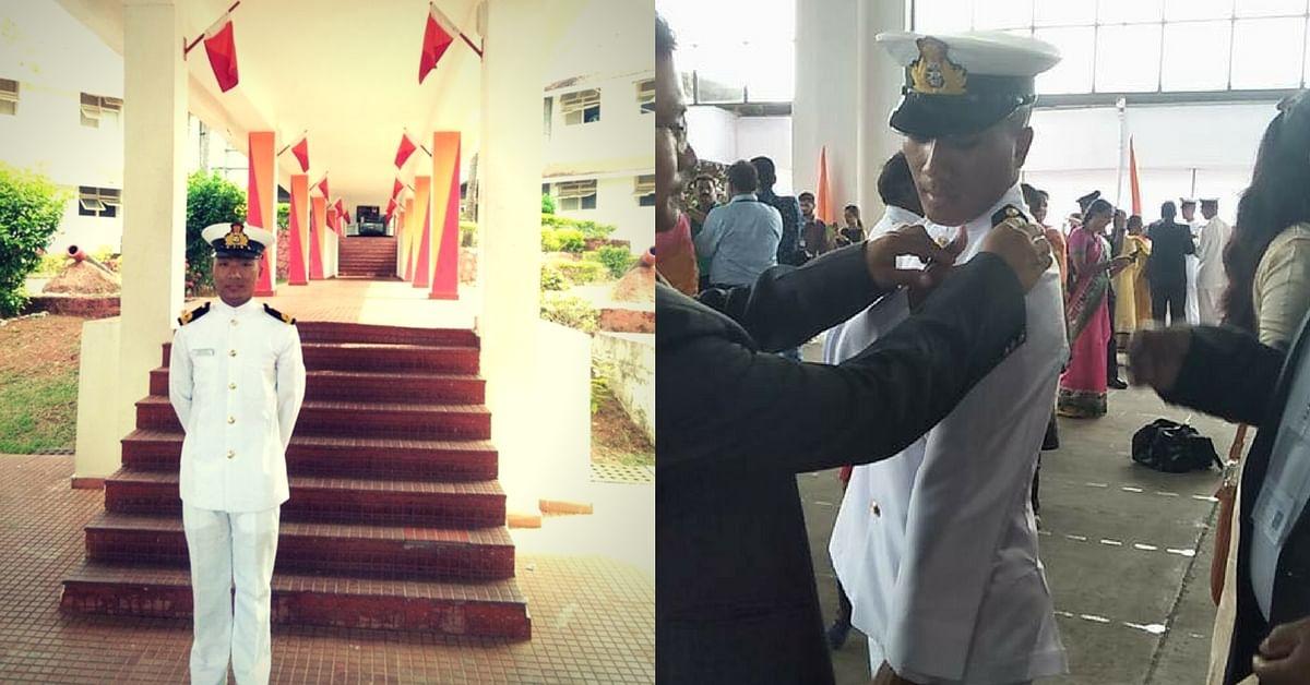 Land-locked, Mountainous Arunachal Pradesh Has One More Officer in The Navy