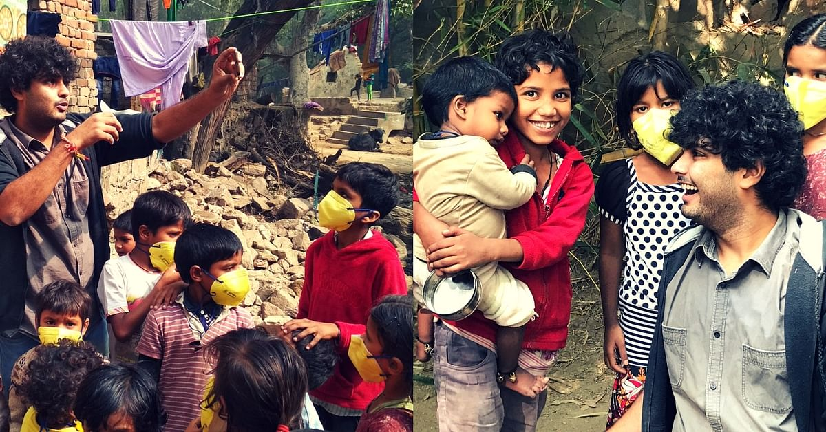 Delhi-smog-street kids