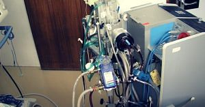 ECMO (Picture for representative purposes only) Picture Credits: Wikimedia Commons.