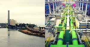 India first off-shore desalination plant Tamil Nadu-