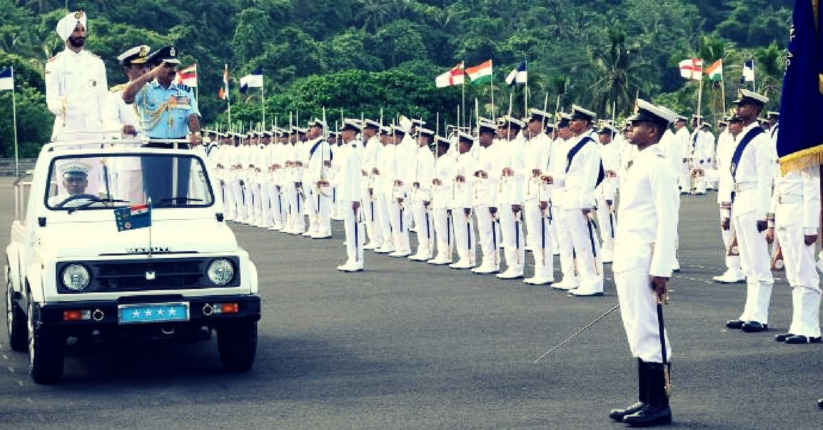 Indian Navy Passing Out Parade. Picture for representative purposes only. Picture Courtesy. Wikimedia Commons.