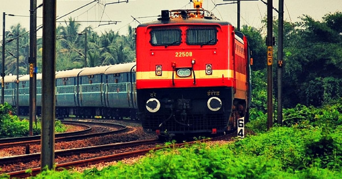 Indian Railways (Image for Representative Purposes Only). Image Credit: Wikimedia Commons.