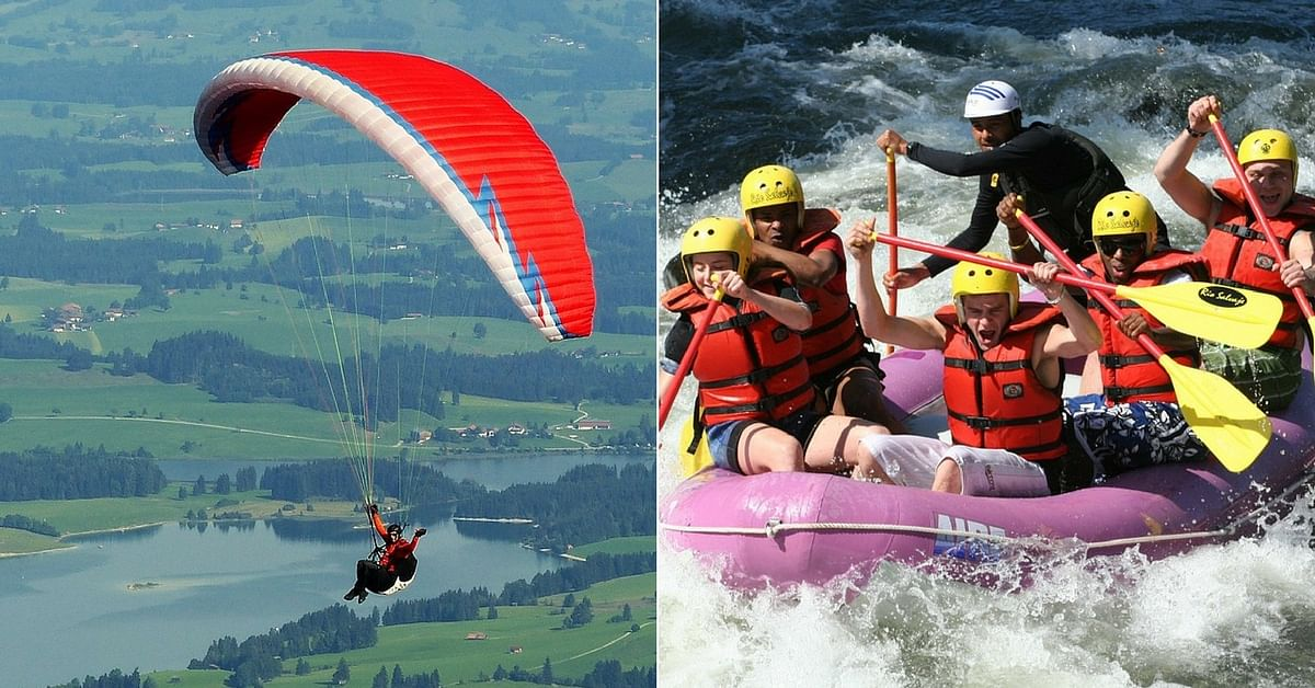 Good News Adventure Seekers! Kashmir to Feature Paragliding & White Water Rafting Courses at JIM!