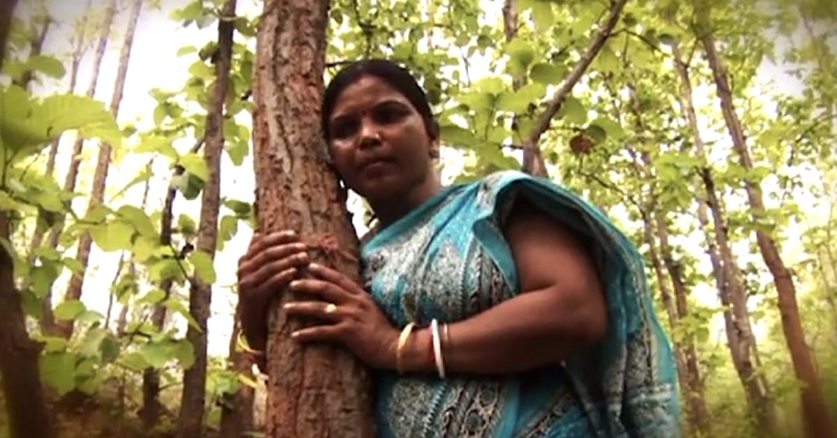 This Tribal Lady & Her Band of Women Saved 50 Hectares of Forests for 20 Years!