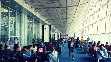 Kolkata Airport. Picture Courtesy: Wikimedia Commons.