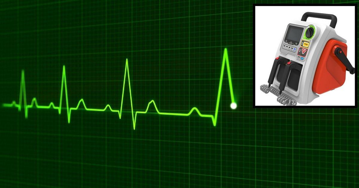 Made in India defibrillator Pune