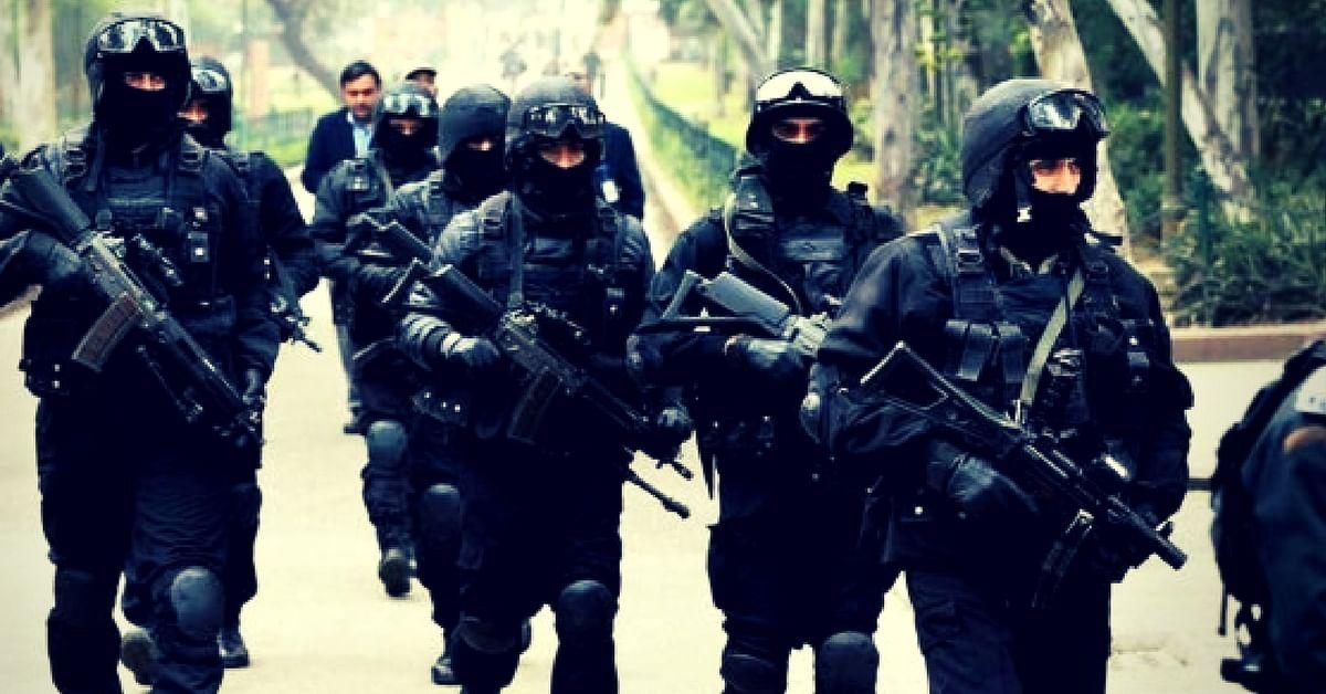 NSG Commandos. Picture Courtesy: Wikipedia.