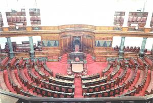 Rajya Sabha Chamber (Source: Parliament of India)
