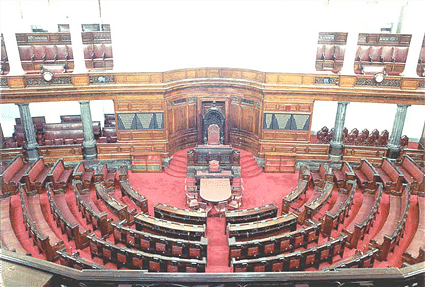 Rajya Sabha Chamber (Source: Parliament of India)