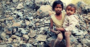 Poor children in India. Picture for representative purposes only. Picture Courtesy: Wikimedia Commons.