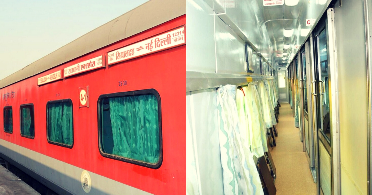 Railway Lovers, Here's a Look at the All-New Swarna Rajdhani