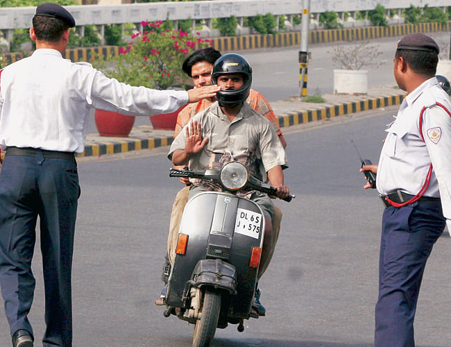 Stopped by the Traffic Police? Here's What You Need to Keep