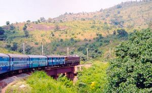 Train in Araku Valley. (Picture for representative purposes only)