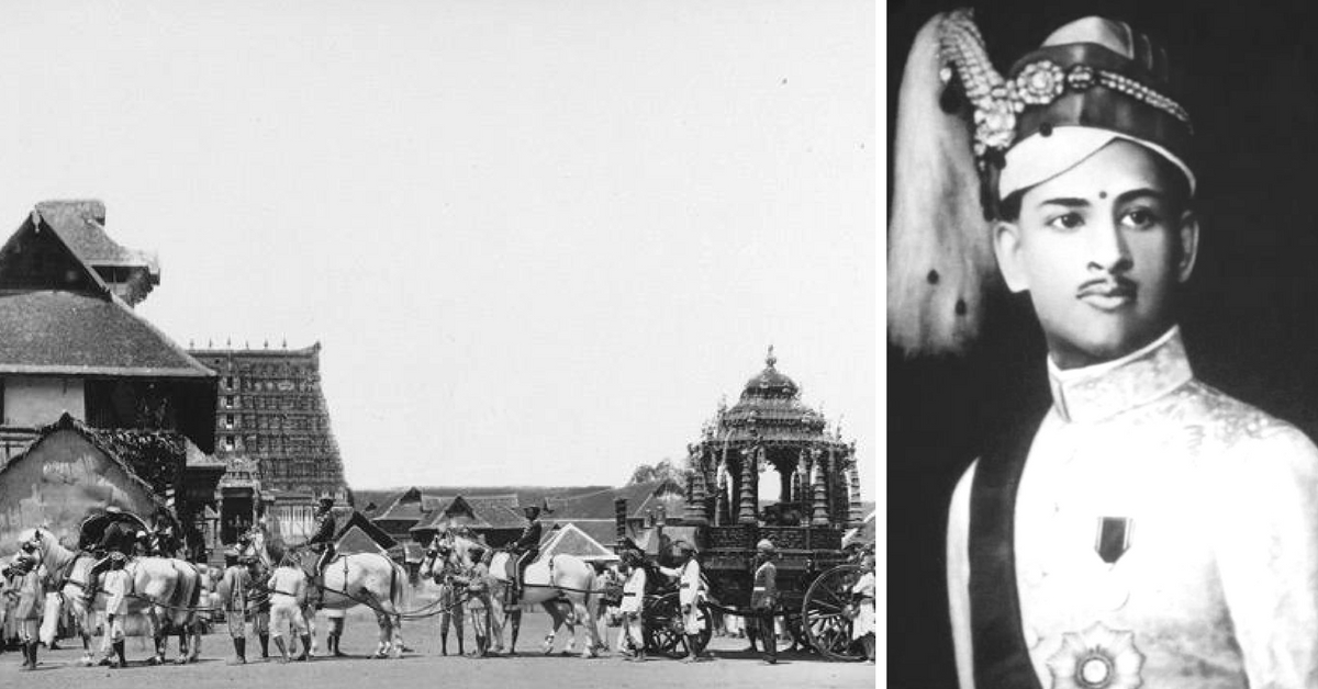The Tale of Travancore's Last King and His Path-Breaking Temple Proclamation