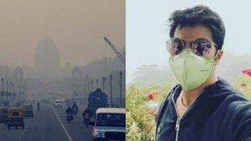 Varun Dhawan Delhi Smog