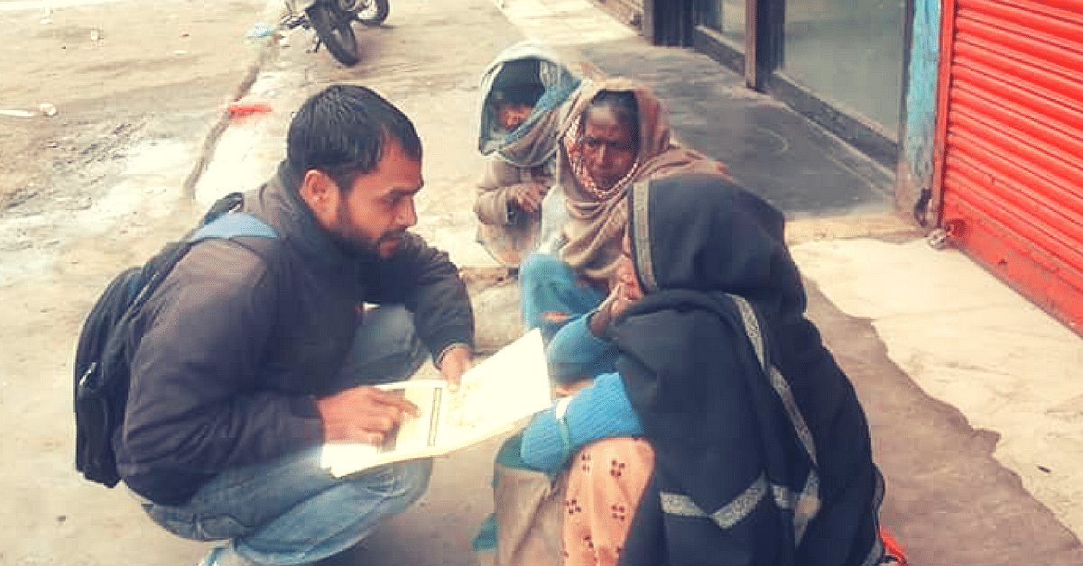 Sharad Patel Is Fighting Against the System to Give Beggars a Dignified Life