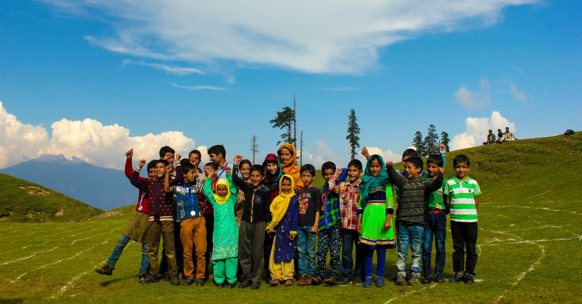 How Volunteer Teachers are Bringing Electricity to a Small Mountain School in J&K