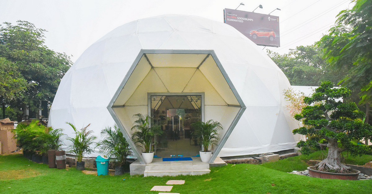 Delhi's Pollution Got You Down? Head to This 'Oxygen Chamber' in Gurugram!