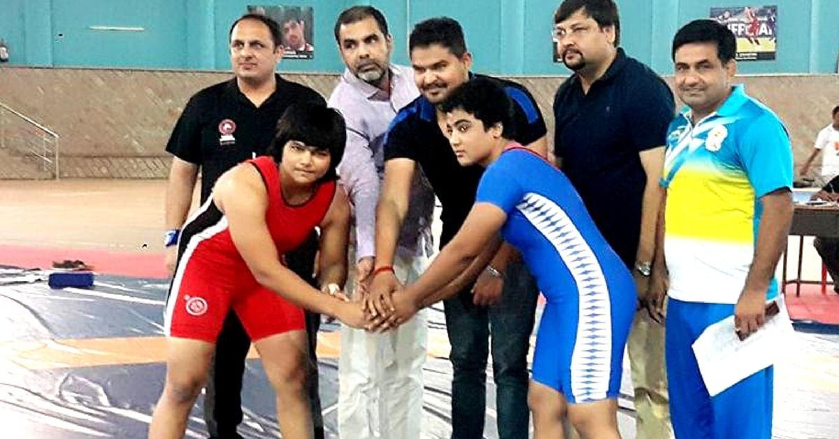 Delhi Wrestler Won Gold at Wrestling Nationals While Her Father Sold Langots Outside