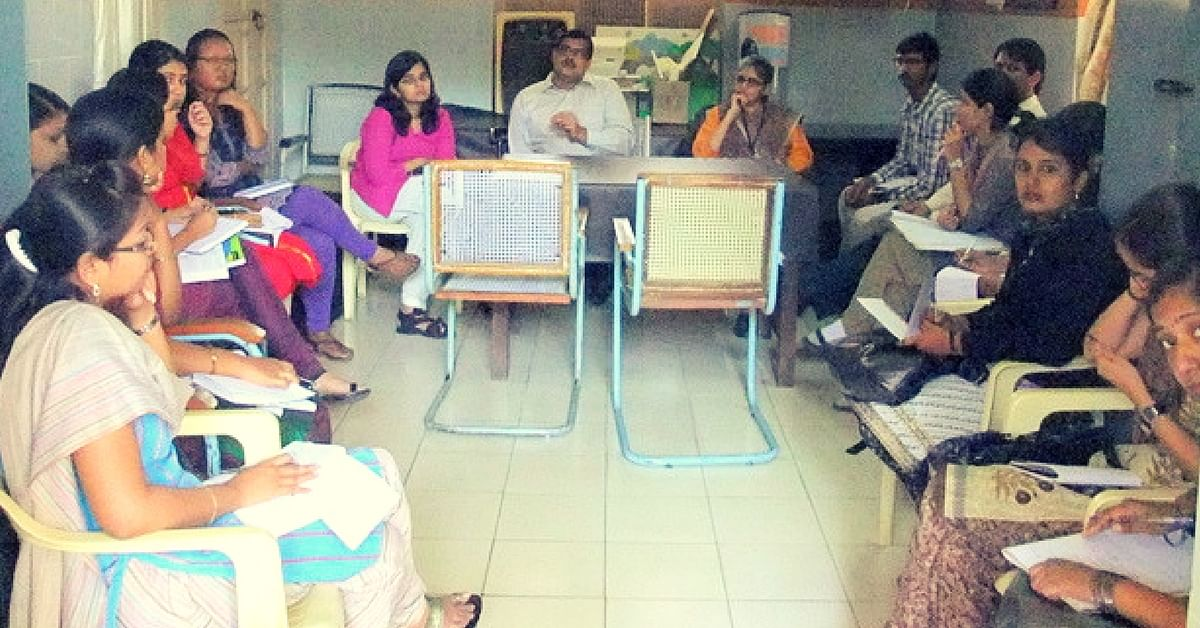 A session with a doctor in progress at NIMHANS. Picture Courtesy: Wikimedia Commons.