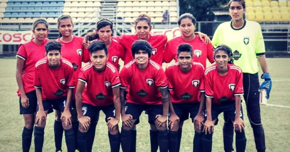 Afshan Ashiq pictured with a team. Picture Courtesy: Facebook.